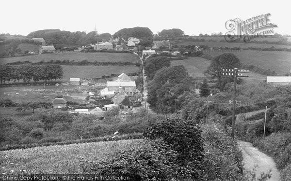 Bigbury, The Village 1925