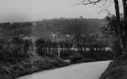 Biggin Hill, Across The Valley c.1950