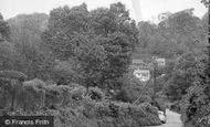 Biggin Hill, Lusted Hall Lane c.1960