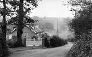 Biggin Hill, Lusted Hill Lane c.1960