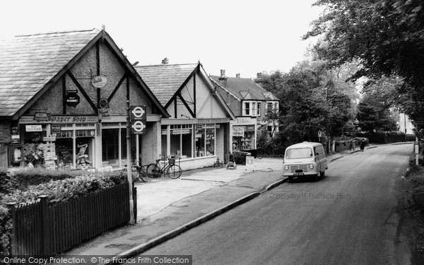 Biggin Hill, Main Road c.1960