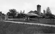 Biggin Hill, St Georges Chapel Of Remeberance Raf c.1960