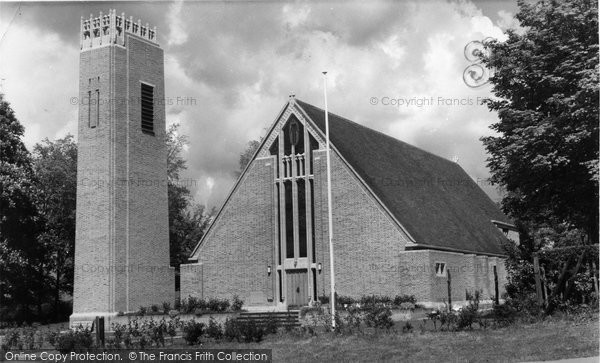 Biggin Hill, St Mark's Church c.1960