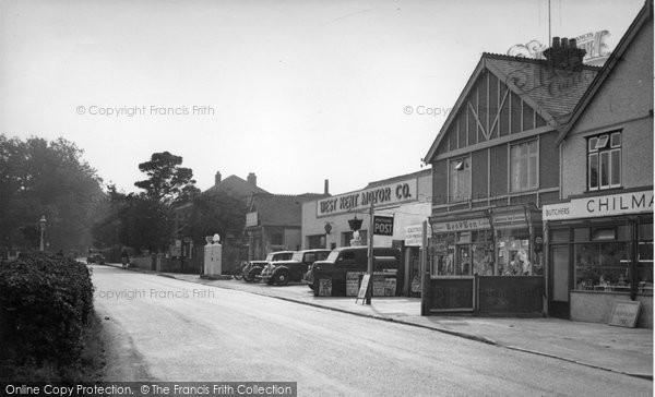 Biggin Hill, The Main Road c.1955