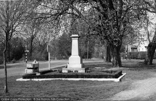 Biggin Hill, The Memorial c.1950