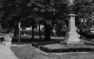 Biggin Hill, The Memorial c.1960