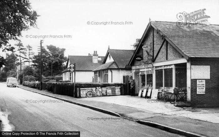 Biggin Hill, The Paper Shop, Main Road c.1960