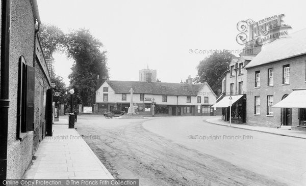 Biggleswade, High Street 1925