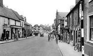 Biggleswade, High Street c.1955