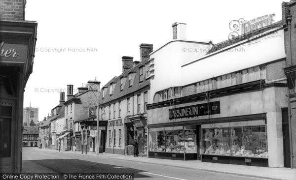 Biggleswade, High Street c.1955