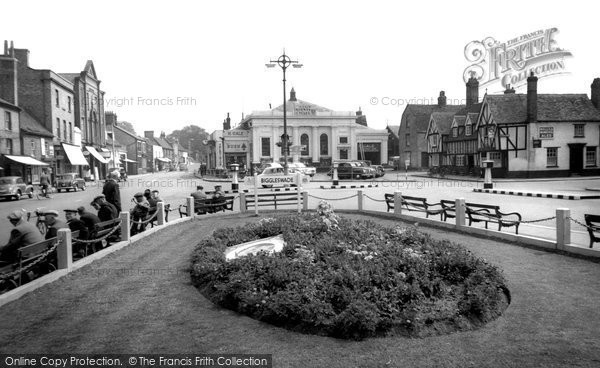 Biggleswade, Market Place c.1955