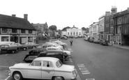 Biggleswade, Market Square c.1960