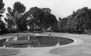 Biggleswade, Recreation Ground c.1955