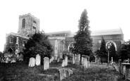 Biggleswade, St Andrew's Parish Church 1925