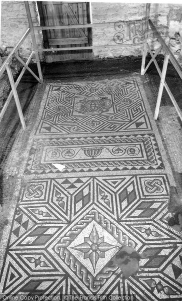 Bignor, Roman Villa, The Box Pattern c.1965
