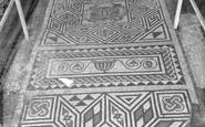 Bignor, Roman Villa, The Box Pattern c.1965