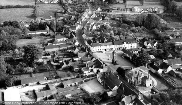 Bildeston, Aerial View c.1965