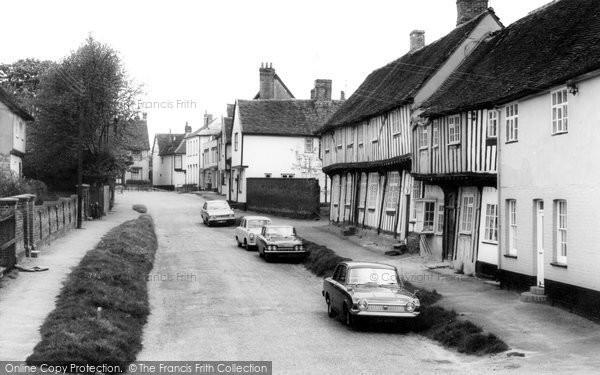 Bildeston, Chapel Street c.1965