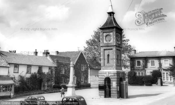 Photo of Bildeston, Market Square c1965