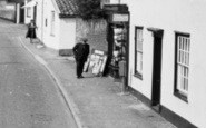 Bildeston, Popping To The Shop c.1960
