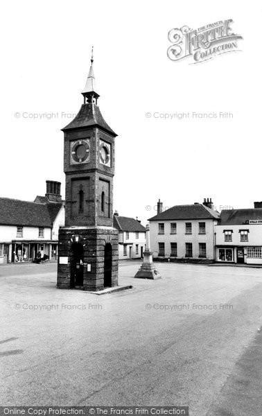 Bildeston, The Clock Tower c.1960