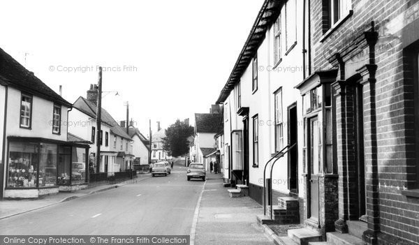 Photo of Bildeston, the Village c1965