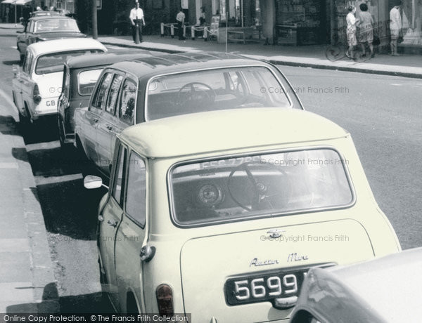 Billericay, Cars In The High Street c.1965