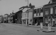 Billericay, High Street Businesses c.1965