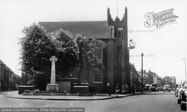 Billericay, Parish Church c.1960