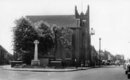 Billericay, Parish Church c.1960