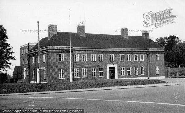 Billericay, Police Station c.1955