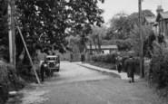 Billericay, Repairs In Lion Lane c.1955