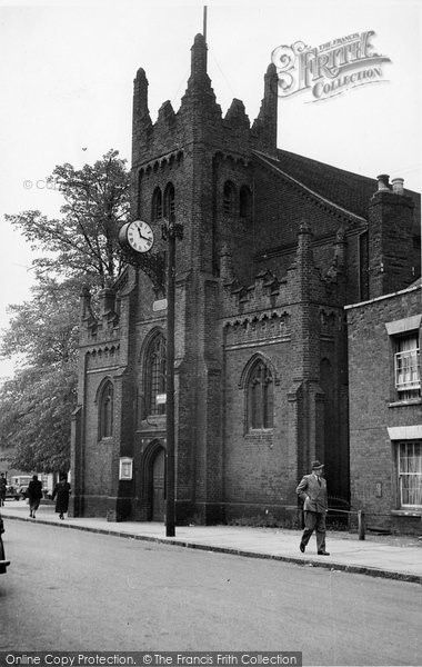 Billericay, St Mary's Church c.1955