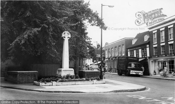 Billericay, The Memorial c.1965