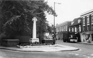 Billericay, The Memorial c.1965
