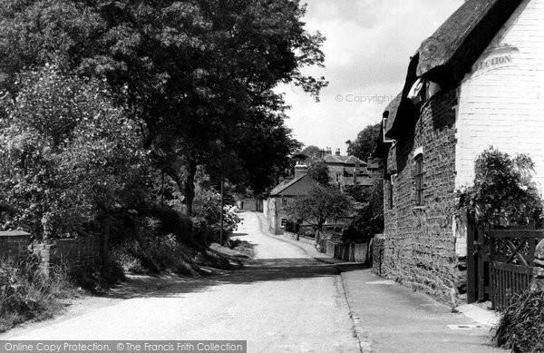 Billesdon, Back Street c.1955