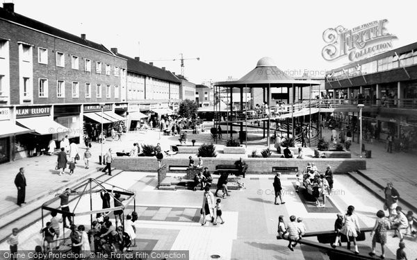 Billingham, Shopping Centre c.1967