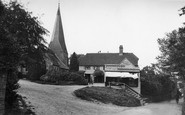 Billingshurst, East Street And St Mary's Church 1912
