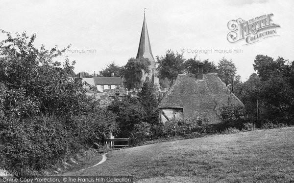 Billingshurst, From Schwiers Meadow 1912