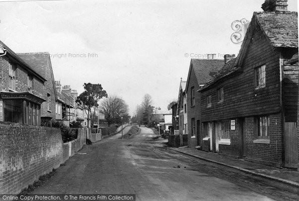 Billingshurst, High Street 1909