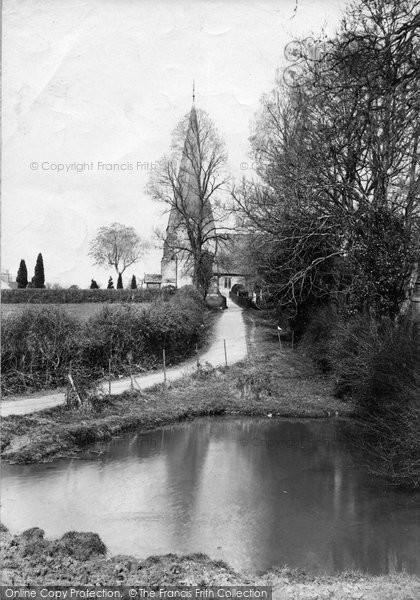 Billingshurst, Holy Well Lane 1909