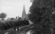 Billingshurst, Holy Well Lane 1923