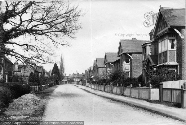 Billingshurst, Lower Station Road 1909