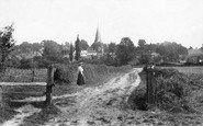 Billingshurst, Mill Lane 1912