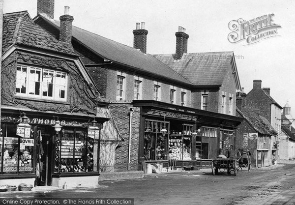 Billingshurst, Shops In The High Street 1909
