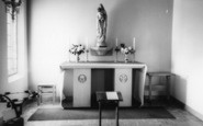 Billingshurst, St Gabriel's Catholic Church Interior c.1960