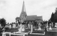Billingshurst, St Mary's Church 1907
