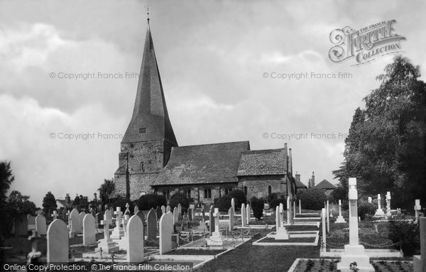 Billingshurst, St Mary's Church 1915
