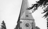 Billingshurst, St Mary's Church c.1955