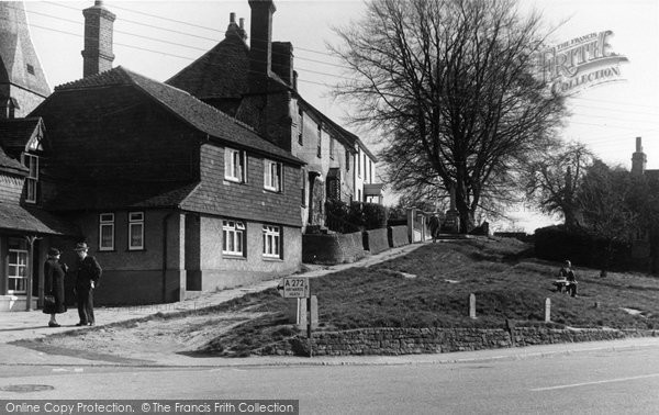 Billingshurst, The Church Slopes c.1950